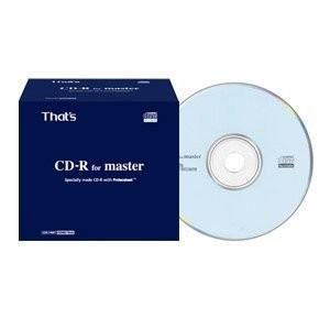 That's 太陽誘電 That's CDR-74MY マスターメディア用CD-R (1枚) PC
