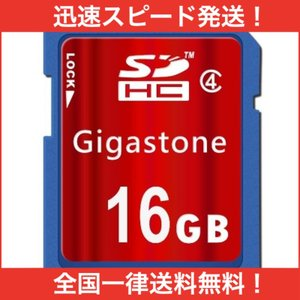 Gigastone SDカード 16GB クラス4 11B1501