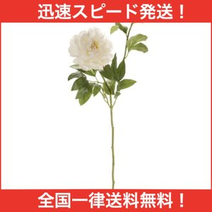 MAGIQ 東京堂 上質な 造花 ミランダピオニー CREAM FM003483-001