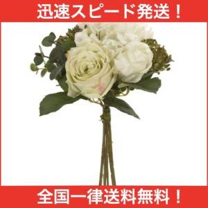 MAGIQ 東京堂 上質な 造花 エタニティローズブーケ CREAM FM005322-001