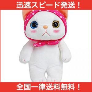 choo choo cat チューチューキャット ぬいぐるみ(M) 猫 高さ23cm ピンクずきん