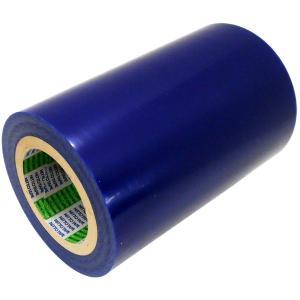 日東 表面保護シート (表面保護フィルム 表面保護テープ) SPV-M-6030 200mm×100m ライトブルー (幅200mm ブルー)|jpitshop