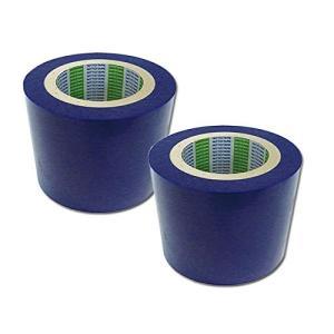 【2巻セット】 日東 表面保護シート (表面保護フィルム 表面保護テープ) SPV-M-6030 100mmX100m ライトブルー M6030100|jpitshop