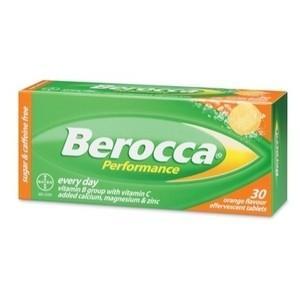 ビタミンサプリメント Berocca (ベロッカ オレンジ味...
