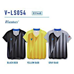 ビクタス 卓球 ウェア V-LS054 ゲームシャツ レディース グレー 031468-0440 <2019CON> jpn-sports