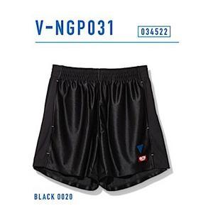 ビクタス 卓球 ウェア V-NGP031 ゲームパンツ 男女兼用 ブラック 034522-0020 <2019CON>|jpn-sports