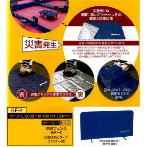 三英 サンエイ 防球フェンスBF-2(災害時対応タイプ・ファスナー付) 11-012 <2019CON>|jpn-sports