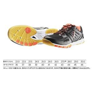 スティガ 卓球 シューズ アジリティ ブラック×オレンジ 1560-0816-F <2019>|jpn-sports
