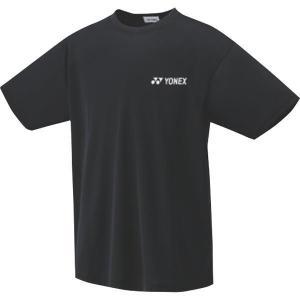 ヨネックス テニス ソフトテニス バドミントン  ジュニア ドライTシャツ ブラック 16400J-007 <2019SSCON>|jpn-sports