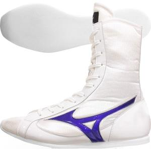 ミズノ ミッドカットタイプ ボクシングシューズ イージーオーダー ネーム刺繍可能 21GX-153000-WHTTYPE01(21GX-183000)|jpn-sports