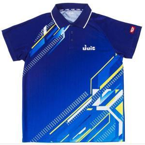 ジュウイック 卓球 ユニフォーム 卓球ウエア デジタル 男女兼用 ブルー 5551-BL <2019>|jpn-sports