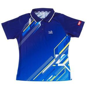 ジュウイック 卓球 ユニフォーム 卓球ウエア デジタル レディース ブルー 5554-BL <2019> jpn-sports