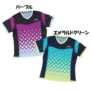 ジュウイック 卓球 ユニフォーム 卓球ウエア サーフα レディース パープル 5569-PU <2019>|jpn-sports