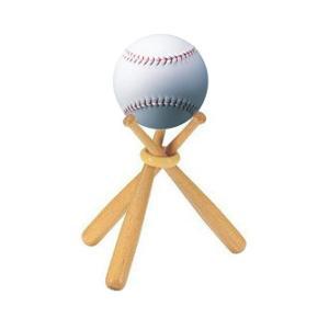 ユニックス 野球 メモリアルグッズ ボールスタンド 飾りバット&サインボールセット ホワイト BX75-50 <2019CON>|jpn-sports