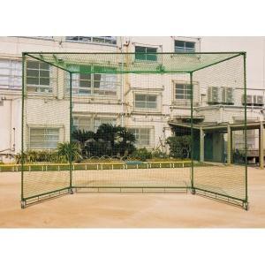 ダンノ 野球場 野球 学校 グラウンド バッティングゲージ(組立式) D-8057 <2019CON>|jpn-sports