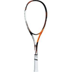 ヨネックス ソフトテニス ラケット 後衛向け エフレーザー7S 上級・中級者用 サイバーオレンジ FLR7S-814 <2019SSNEW>|jpn-sports