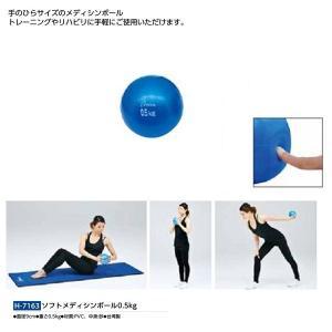 トーエイライト フィットネス トレーニング ソフトメディシンボール0.5K H-7163 <2019...