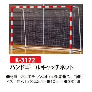 カネヤ 学校 校庭 公園 庭 ハンドゴールキャッチネット K-3172 <2019NP> jpn-sports