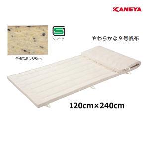 カネヤ 学校 体育 体操 体操マット9 5×120×240 K-4102 <2019NP>|jpn-sports