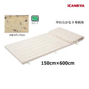 カネヤ 学校 体育 体操 体操マット9 5×150×600 K-4112 <2019NP>|jpn-sports