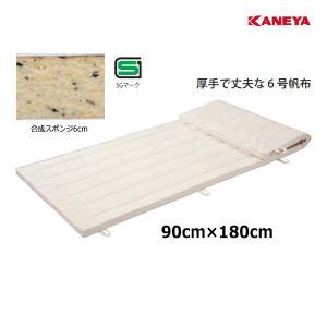 カネヤ 学校 体育 体操 体操マット6 6×90×180 K-4121 <2019NP>|jpn-sports