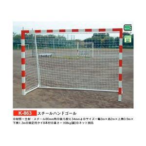 カネヤ 学校 体育 ハンドボール スチールハンドゴール  K-863 <2019NP> jpn-sports