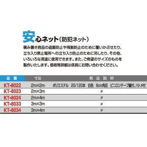 寺西喜 安心ネット(防犯ネット) KT-8022 <2019CON>|jpn-sports