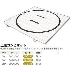 三和体育 土俵マット180×180×5 9号  S-8131 <2019CON>