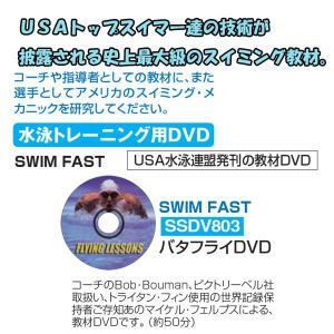 秦運動具工業 CD&DVD スイミング教材 水泳トレーニング DVD SWIM FAST バタフライ SSDV803 <2019CON>