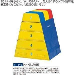 トーエイライト ソフト跳び箱5段 T-1840 <2019NP>
