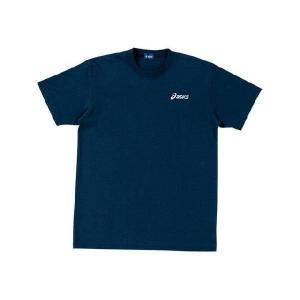 アシックス 半袖ワンポイント Tシャツ XA021N-50 ネイビー(紺) jpn-sports