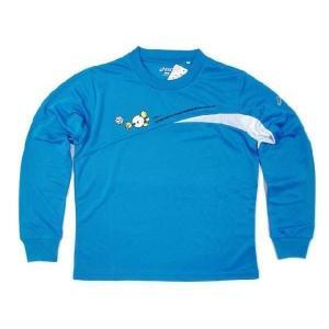 アシックス バレーバボちゃん レディスTシャツ (長袖) XW614S-46 jpn-sports