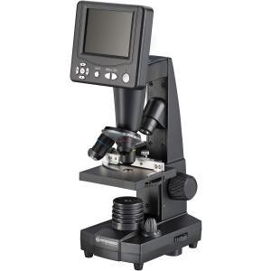 Bresser LCDデジタル顕微鏡 3.5インチ液晶搭載 50-500倍 500万画素 撮影可能 5201000|jpowerclub