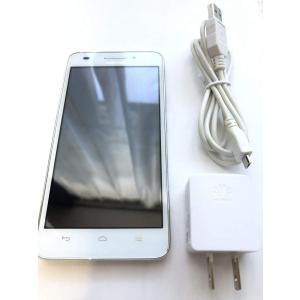 Huawei SIMフリースマートフォン Ascend G620S(ホワイト)(LTE対応) G62|jpowerclub
