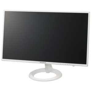 Princeton 21.5型ワイドカラー液晶ディスプレイ(高視野角ADSパネル 白色LEDバックライト ブルーライトリダクション機能) ホワイト|jpowerclub