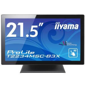 iiyama タッチ モニター ディスプレイ T2234MSC-B3X (21.5インチ/フルHD/投影型静電容量タッチ方式/10ポイントマルチタッ|jpowerclub