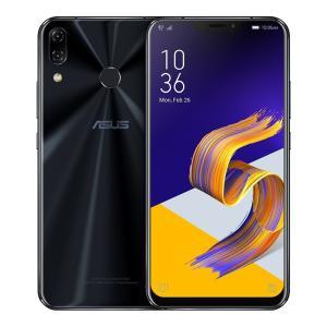 ASUS ZenFone 5Z (ZS620KL) 6GB/64GB 6.2インチLTEデュアルSIM工場ロック解除 [並行輸入品] (ミッドナイト jpowerclub
