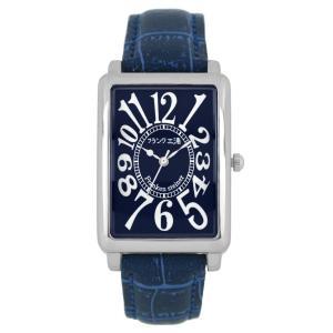 [フランク三浦]FRANKMIURA 腕時計 初号機 改 革ベルト ネイビー FM01K-NV|jpowerclub