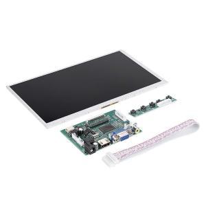 LCDディスプレイ Bewinner 9インチ ディスプレイモジュール HDMI + VGA + 2AVドライバボード 1024×3(RGB)×60|jpowerclub
