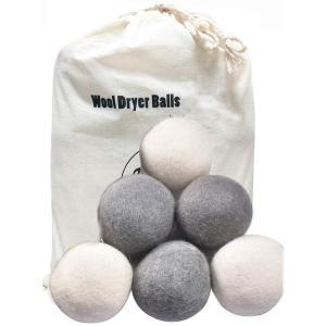 AOFIT 乾燥ボール ドライヤーボール ウール 乾燥機用 洗濯ボール 静電気防止 梅雨対策 繰り返し使用可能 柔軟剤いらず 衣類フワフワ 乾燥時間 jpowerclub