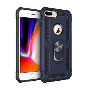ZLgoods For iPhone 8 Plus/ 7 Plus/ 6s Plus/ 6 Plus ケース 耐衝撃 リング スタンド付き 米軍軍事|jpowerclub