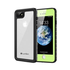 Lanhiem iPhone8/7 防水ケース アイフォン7/8 防水ケース 完全防水 指紋認証/Face ID認証対応 IP68米軍規格 タッチ可|jpowerclub