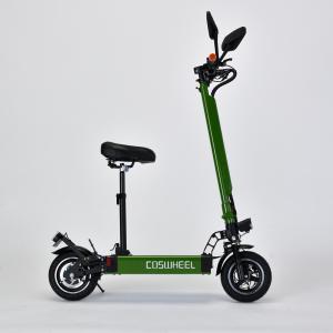 電動キックボード 公道仕様 COSWHEEL EV SCOOTER 2WAY乗りEVスクーター 折りたたみ式 公道走行可 ナンバー取得可能 サドル椅子付き(グレー)|jpstars