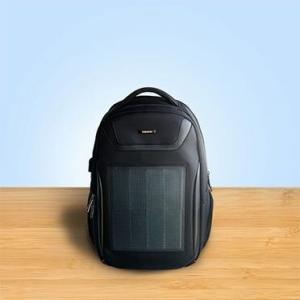 リュック メンズ ソーラーパワーバッグ ソーラーバックパック ソーラーリュック ビジネス 通学通勤旅行出張 USB充電口付き 太陽光発電 ソーラーパネル付き|jpstars