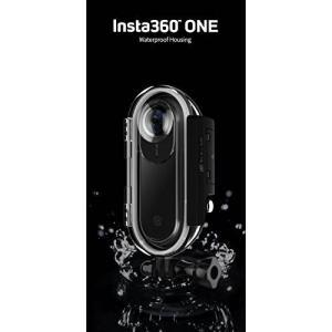 Insta360 ONE専用の防水ハウジングケース(水深30m防水、IP68) カメラをケースに入れ...