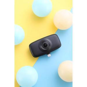 アクションカメラ 360度カメラ KANDAO QooCamFun クーカムファン Vlogカメラ 全天球カメラ 360度カメラ 手ブレ補正 ビューティー機能 SNSシェア ライブ配信|jpstars