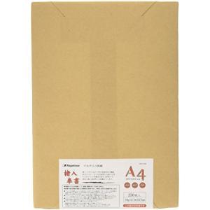 Nagatoya レターセット ナ-852 OA和紙 厚口 楮入奉書 白 A4 250枚〔03908...