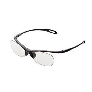 ELECOM ブルーライトカット眼鏡 老眼鏡 +2.0 ブラック R-BC20-L01BK