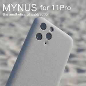 iPhone 11 Pro ケース スマホケース MYNUS サンドグレー CASE シンプル|jpt-teds