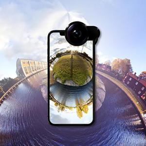 セルカレンズ 携帯360°カメラ スマホ360°カメラ 高画質 iPhone X/XS セール|jpt-teds